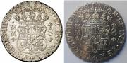 Columnarios de Carlos III - auténtico vs falso 1760a