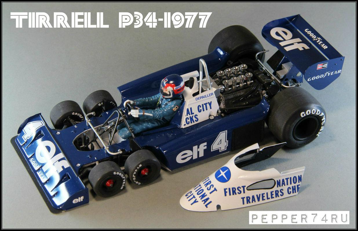 Tyrrell P34 1977 Monaco GP Tirrel_0006