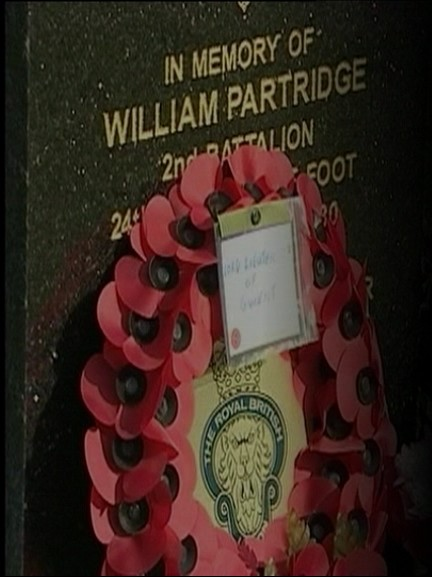 Willilam Partridge  Re-Dedication Capture43