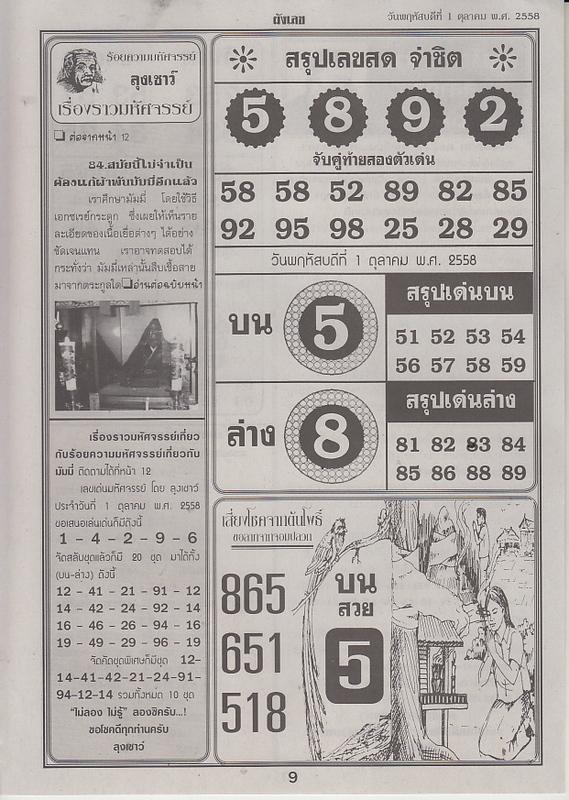 01 / 10 / 2558 FIRST PAPER Panglek_9