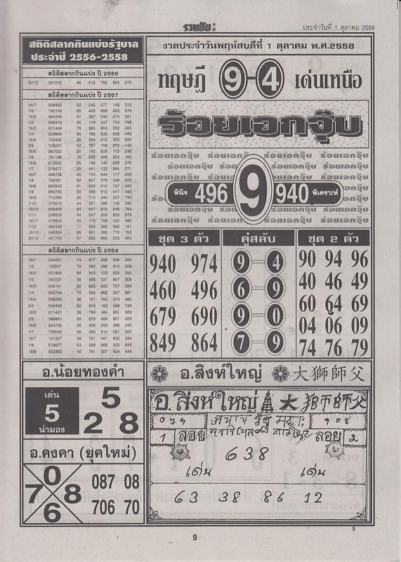 01 / 10 / 2558 FIRST PAPER Ruamchai_9