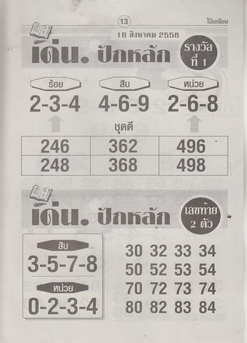 16 / 08 / 2558 MAGAZINE PAPER  - Page 3 Poiziane_13