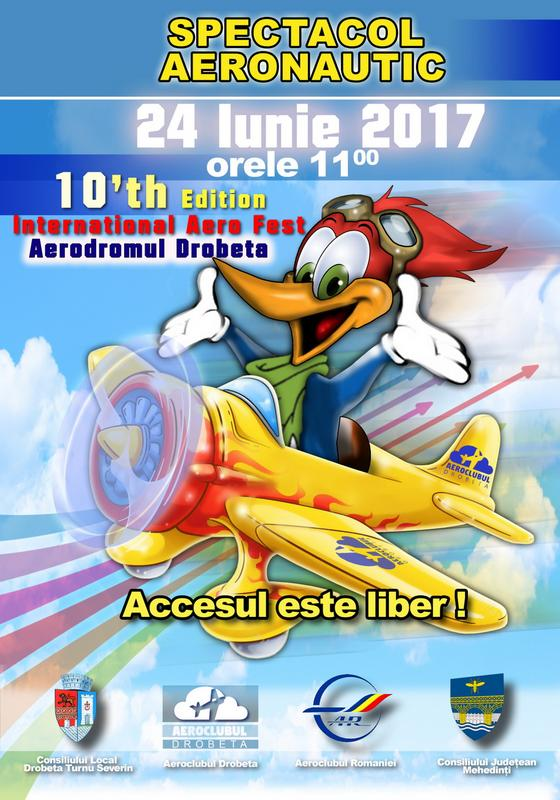 Drobeta Fly In 2017 - 10th Edition - International Aero Fest - 24 of June 2017 11 o'clock 1j68vn