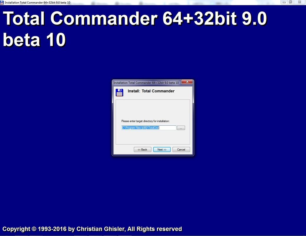 Total Commander v9.0a Extended 17.1 (Full / Lite) Untitled