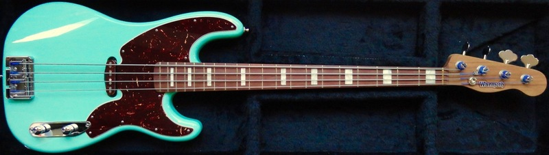 Review: Warmoth Custom '54 P-Bass via Tech 21 SansAmp Bass Driver DI V2 DSC07269
