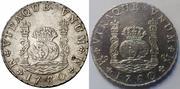 Columnarios de Carlos III - auténtico vs falso 1760r