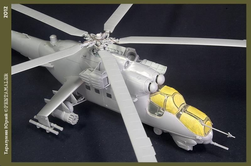 МИ-24В/ВП Звезда, сборка от БТТ шника YURA7801