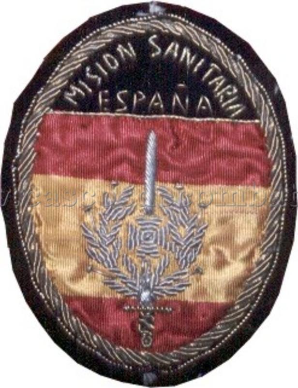 ESPAÑOLES EN VIETNAM - Historia, Cascos y Uniformes. Distintivos_y_emblemas_misionsanitaria_004_Antonio_Prieto_Barrio