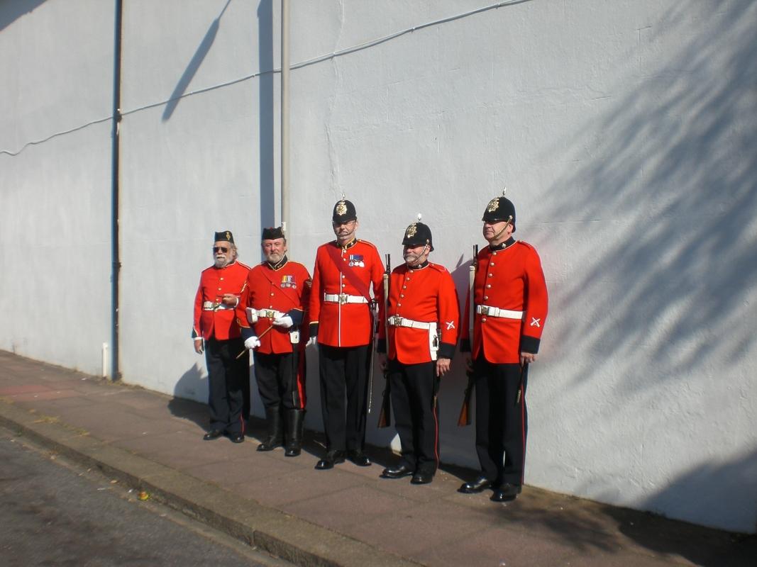 Private  William Cooper Event in Worthing Sussex CIMG3702
