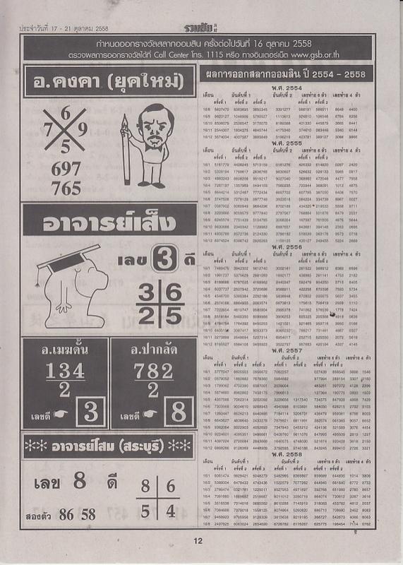 01 / 10 / 2558 FIRST PAPER Ruamchai_12