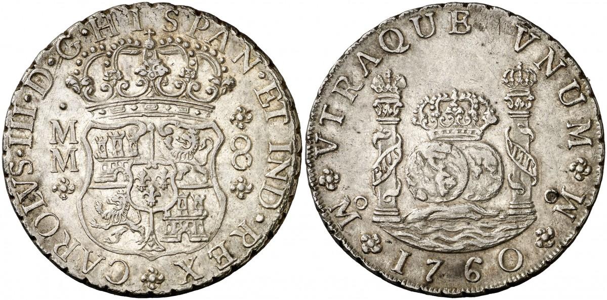 Columnarios de Carlos III - auténtico vs falso 1590632l