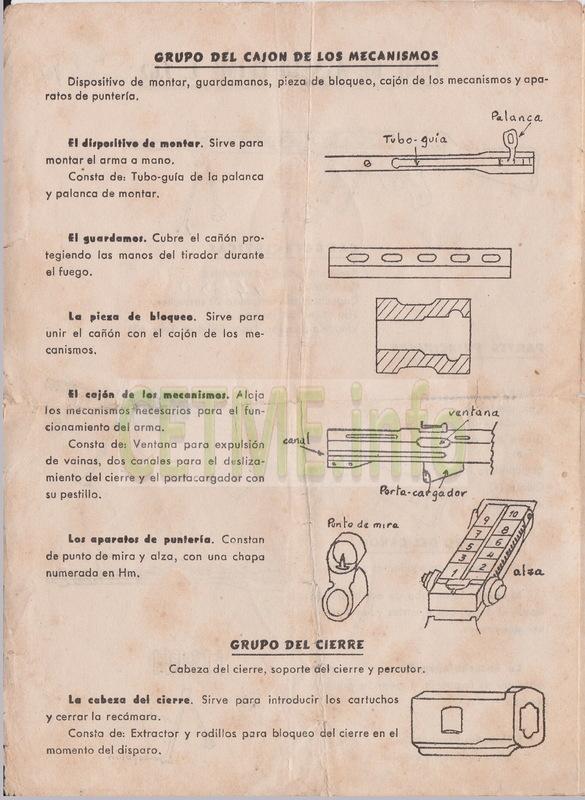 Folleto descriptivo del Fusil de Asalto B Mod.58 Folleto_Descriptivo_CETME_58_002b