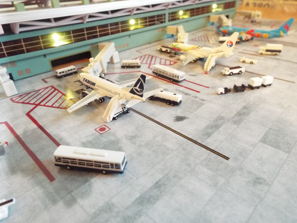 Aeroporturi in miniatura 1:400 - 1:500 DSCF5564