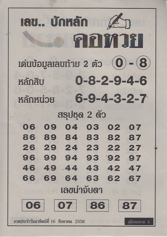 16 / 08 / 2558 MAGAZINE PAPER  - Page 2 Korhuay_4