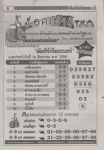 16 / 08 / 2558 MAGAZINE PAPER  Comepeereangber_8