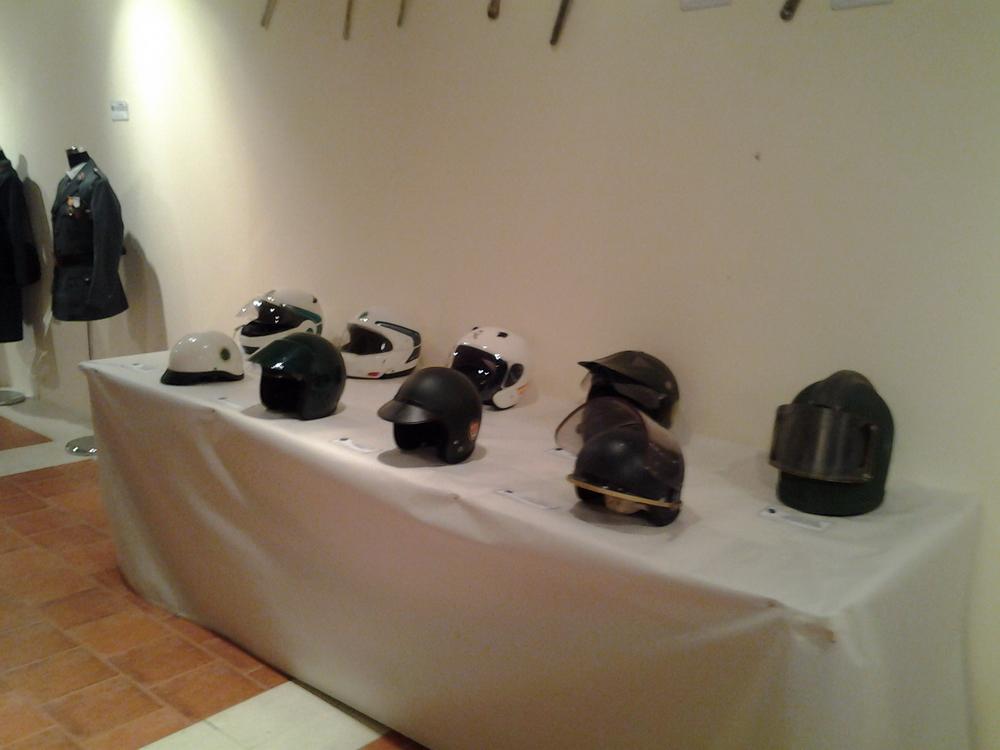Exposicion de La Guardia Civil, Museo Villa Señor de Ciudad Real. 14 de Junio - 20 de Julio, 2013. Expo_GC_042_preparativos
