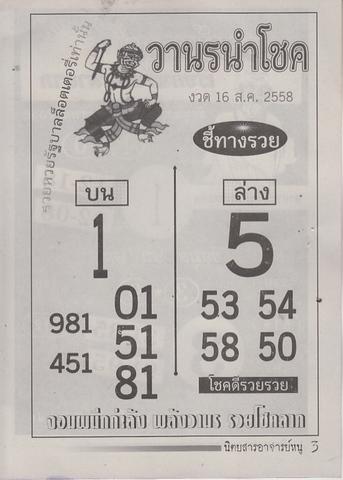 16 / 08 / 2558 MAGAZINE PAPER  Ajannu_3