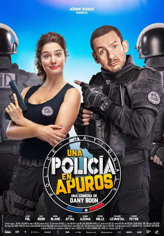 Una policia en apuros (2017) [Ver Online] [Descargar] [HD 1080p] [Castellano] Una_policia_en_apuros-cartel-7551