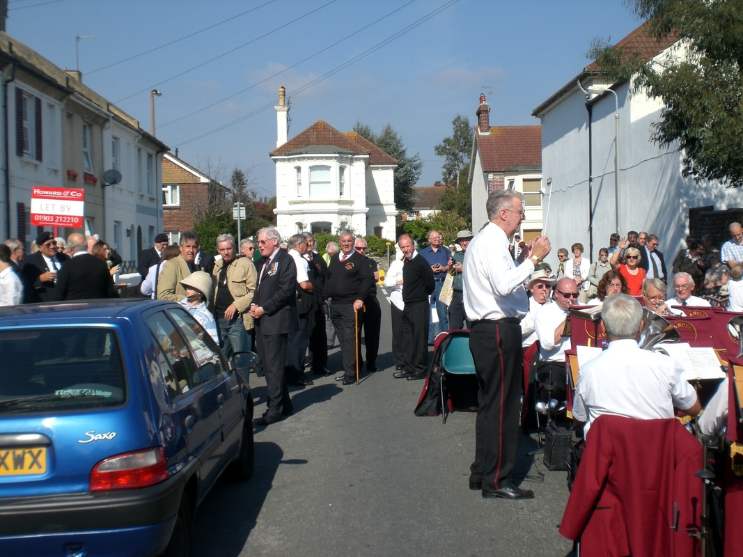 Private  William Cooper Event in Worthing Sussex CIMG3691