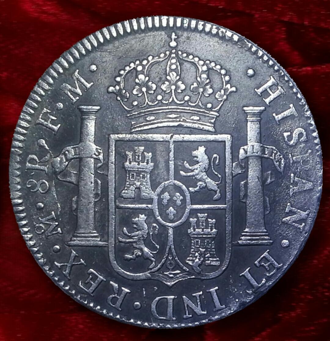 8 Reales 1801 de CARLOS IV - Mexico FM (desde la Plaza Real BCN) 8_r_2