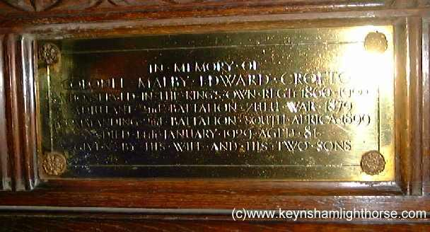 The Keynsham Light Horse Part 2 Mecrofton04plq