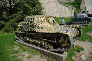 Итальянская танкетка Carro veloce L3/35 в Военном музее в замке Калемегдан г.Белград SG201726