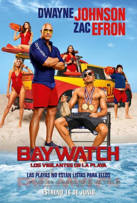 Los vigilantes de la playa (2017) [Ver Online] [Descargar] [HD 1080p] [Español] [Acción] Baywatch-140246721-large