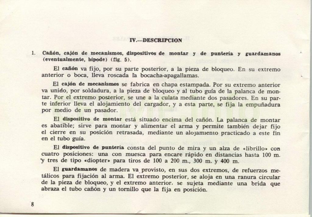 "Manual CETME C ""Santa Bárbara"" 1º Modelo. Manual_p08"
