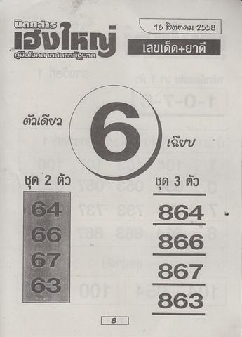 16 / 08 / 2558 MAGAZINE PAPER  Heangyai_new_book_8