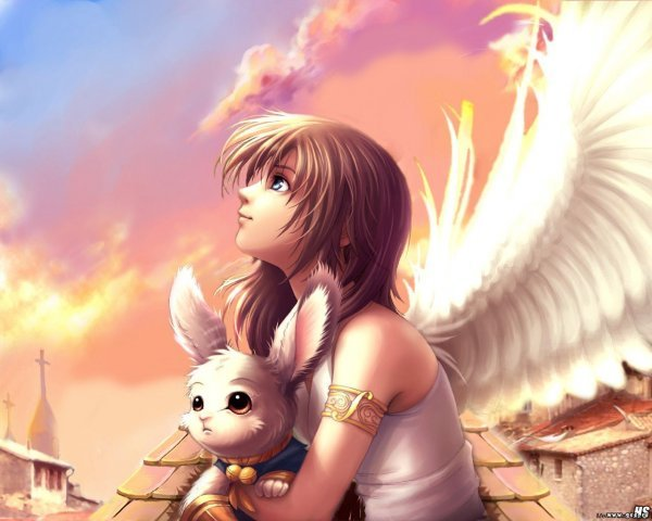 Арты на тему : Ангелы 0da36597d1e8