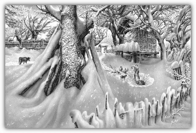 Снег, согревающий душу (Доленджашвили Г.) 6b041bc13bfa