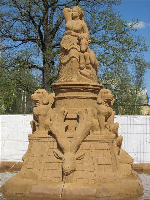 """Международный фестиваль песчаной скульптуры «Знаменитые фонтаны мира"""" 16b1f16433dc"""