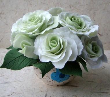Цветы ручной работы из полимерной глины - Страница 2 4856c2c7cca7
