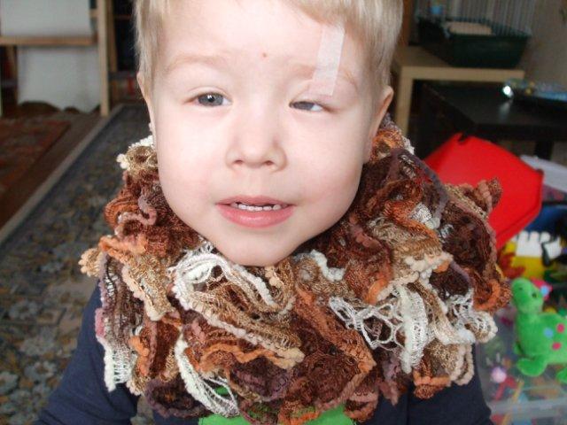 Вязаная шаль, шарфы - Страница 4 1245d9e5d935