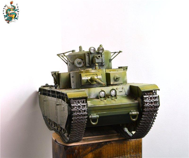 Soviet T-35 Heavy Tank Hobby/Boss 1/35 Afdfe29f819b