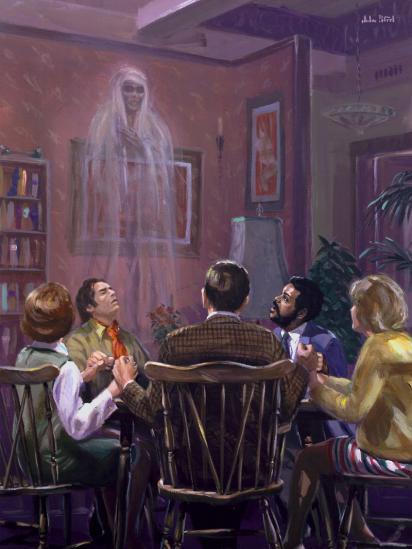 Voici pourquoi un catholique ne peut pas pratiquer le spiritisme... Spiritisme-6