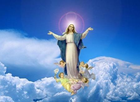 Mois de mai, mois de Marie! - Page 2 Marie-Reine-du-Ciel-et-des-anges