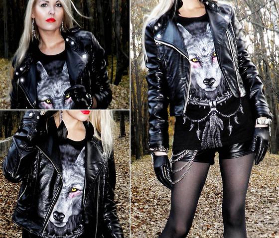Rock style Black-leather-fashion-glam-rock-girl-leather-jacket-rock-Favim.com-245802