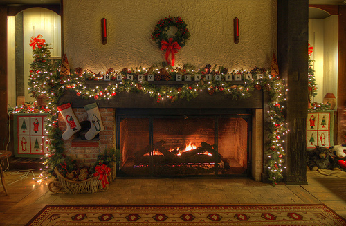 NOT SURE WHERE TO POST THIS Christmas-fireplace-photography-Favim.com-248482