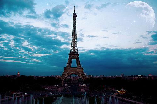 Paris city of love Eiffel-tower-france-paris-Favim.com-267468