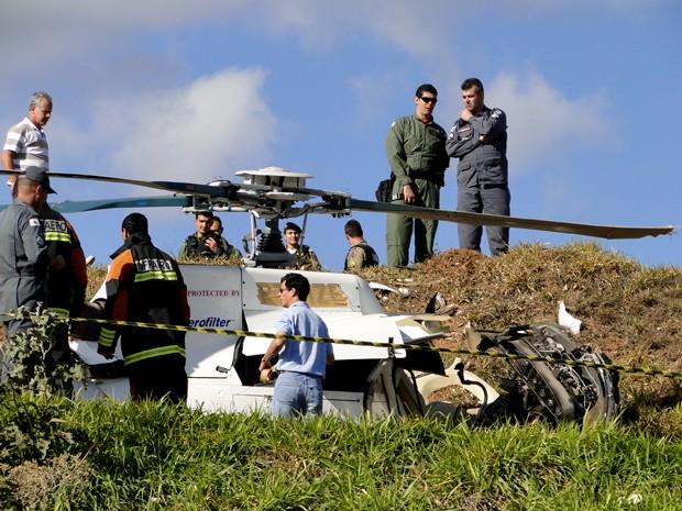 aeroporto - [BRASIL]Helicóptero se envolve em acidente em aeroporto de Belo Horizonte Helicoptero