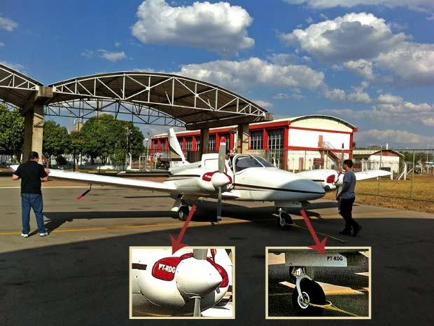 plano - [Brasil] Sem habilitação, piloto de avião que caiu na Bahia usou outro nome em plano de voo, diz Anac  Aviao-620