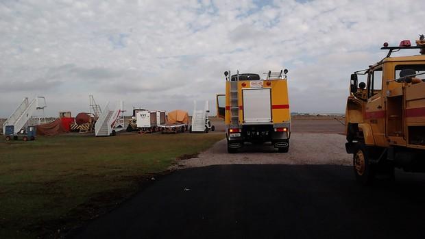 aeroporto - [Brasil] Aeroporto de Passo Fundo (RS) deve retomar atividades até fim da semana  Aeroporto_passofundo