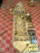 40-gun Old Glory man o' war ship Bild0441
