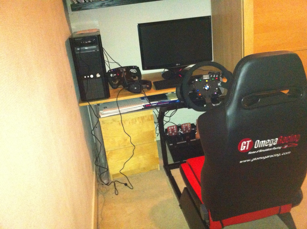 Fanatec Club Sport Wheel, Club Sport Pedals, Club Sport Formula Rim and Thrustmaster Th8 RS shifter, GT Omega Racing EVO rig, Buttkicker gamer 2, Simvibe Review - Page 2 Gtom1