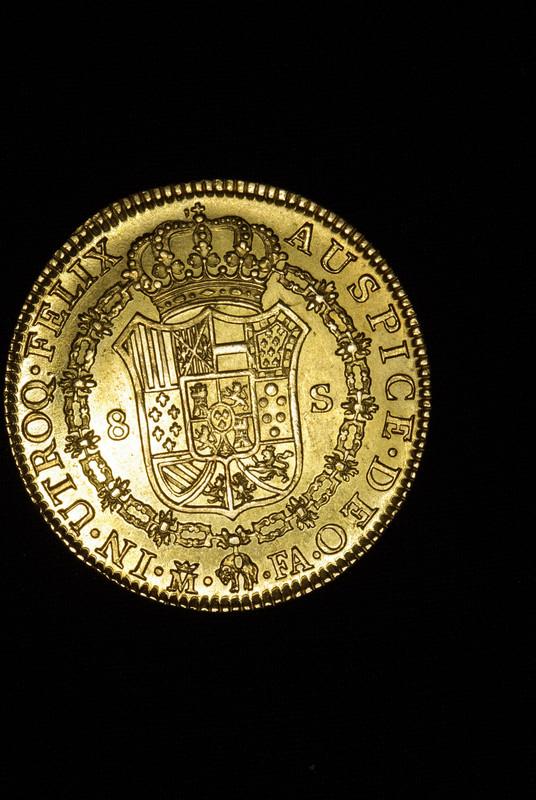 8 Escudos 1802 (Onza). Carlos IIII. Madrid. FA. IGP7579