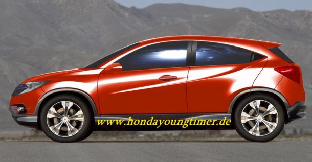 2014 - [Honda] Vezel / HR-V Honda_Urban_SUV_Concept