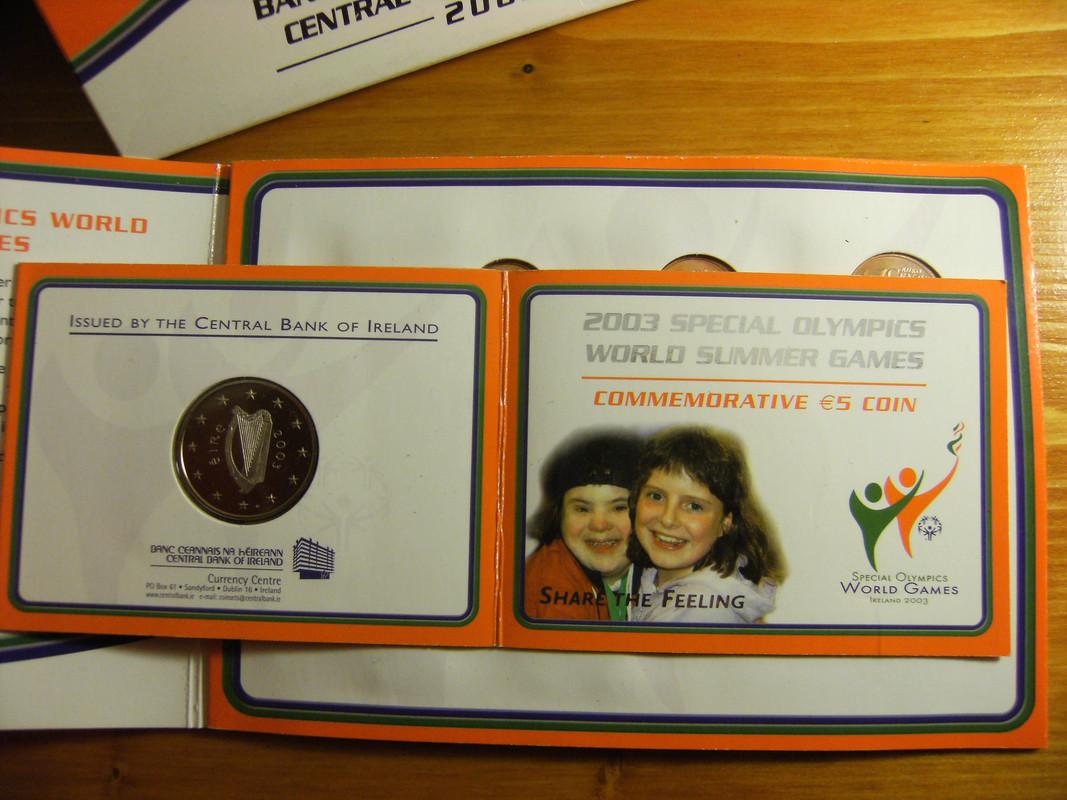 5 euros coloreados Irlanda 2003 DSCF3147