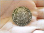 2 reales Carlos IV 1808 Madrid P1120759