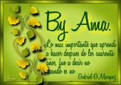 Hojas con Frase Image